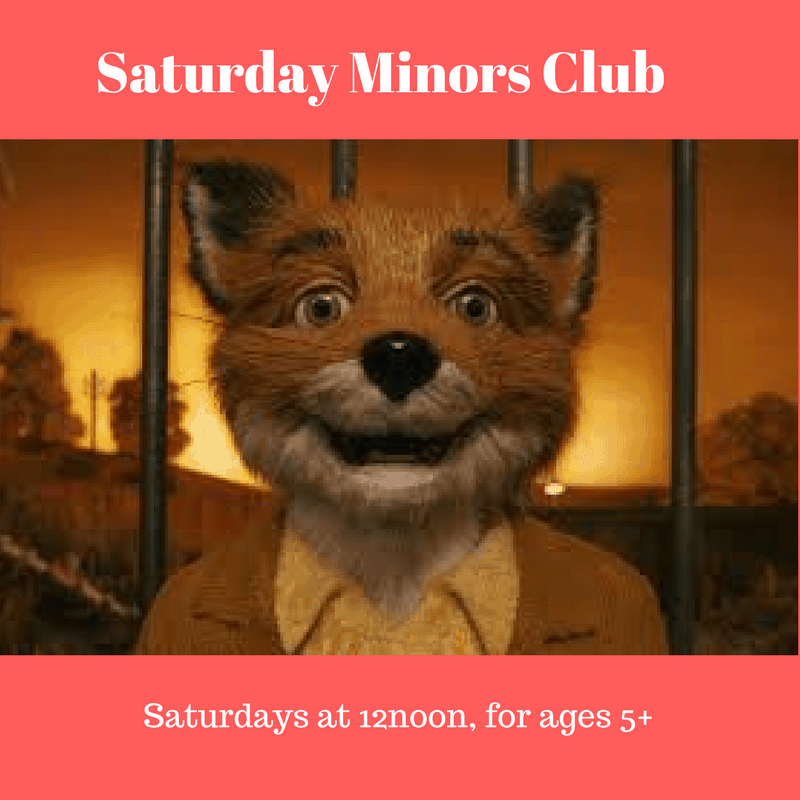 Saturday Minors Club at Strand Arts Centre