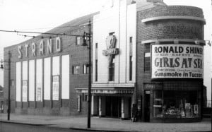 Strand Arts Centre in the 1950s